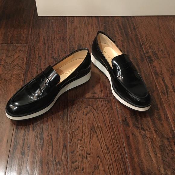 M. Gemi Black Loafers